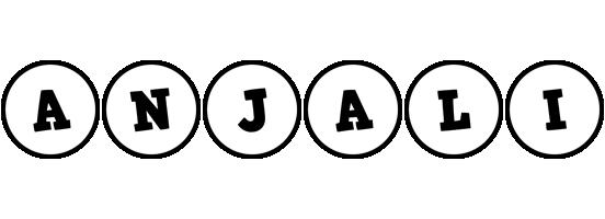 Anjali handy logo