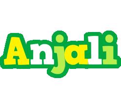 Anjali soccer logo