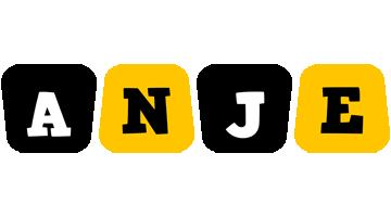 Anje boots logo