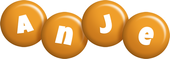 Anje candy-orange logo