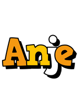Anje cartoon logo