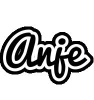 Anje chess logo