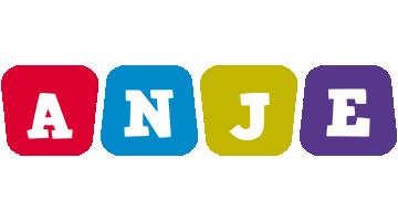 Anje daycare logo