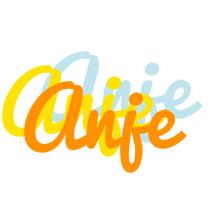 Anje energy logo