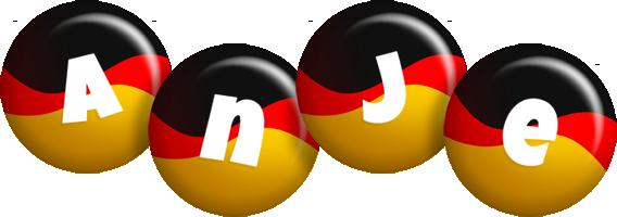 Anje german logo