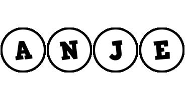 Anje handy logo