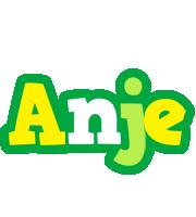 Anje soccer logo