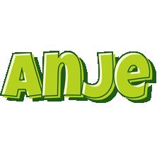 Anje summer logo