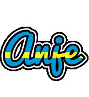 Anje sweden logo
