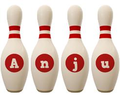 Anju bowling-pin logo