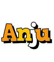 Anju cartoon logo
