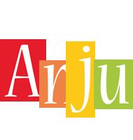 Anju colors logo