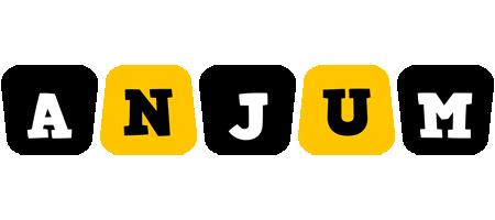 Anjum boots logo