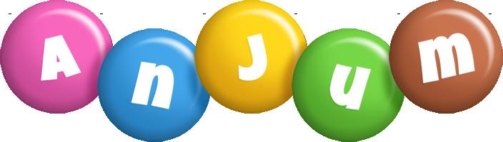 Anjum candy logo