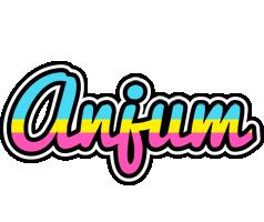 Anjum circus logo