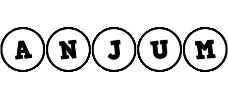 Anjum handy logo
