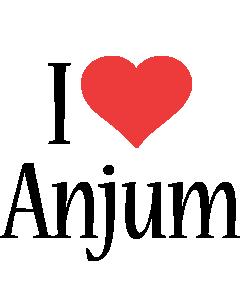 Anjum i-love logo