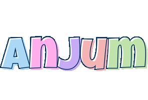 Anjum pastel logo