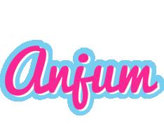 Anjum popstar logo