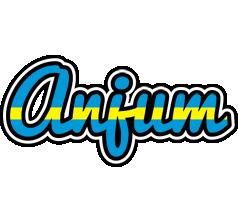 Anjum sweden logo