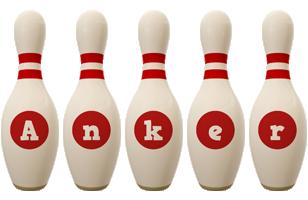 Anker bowling-pin logo
