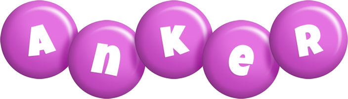 Anker candy-purple logo
