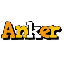 Anker cartoon logo