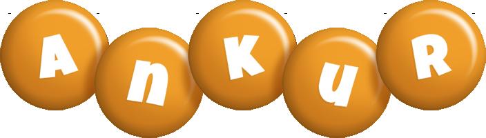 Ankur candy-orange logo