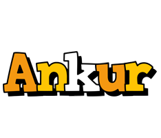 Ankur cartoon logo