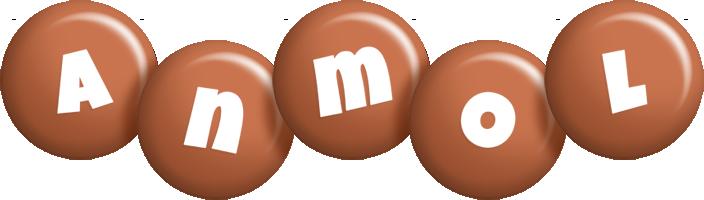 Anmol candy-brown logo