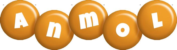 Anmol candy-orange logo