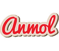 Anmol chocolate logo