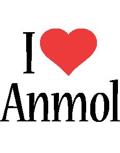 Anmol i-love logo