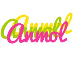 Anmol sweets logo