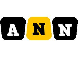 Ann boots logo