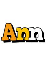 Ann cartoon logo