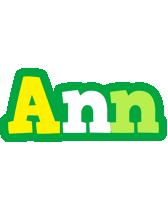 Ann soccer logo