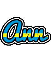Ann sweden logo