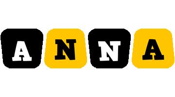 Anna boots logo