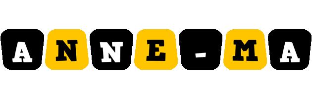 Anne-Ma boots logo