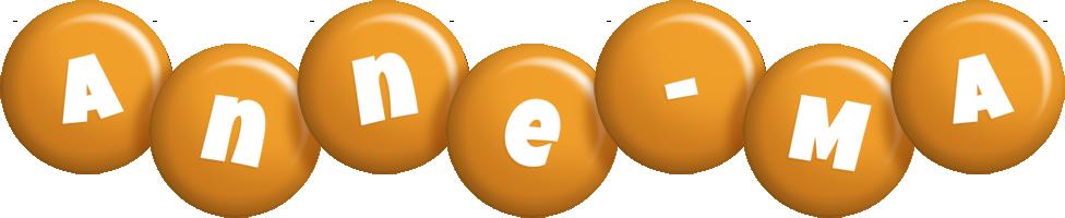 Anne-Ma candy-orange logo