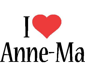 Anne-Ma i-love logo