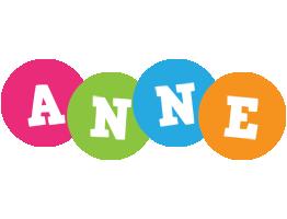 Anne friends logo