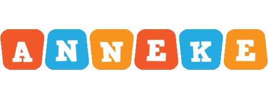 Anneke comics logo