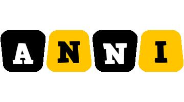 Anni boots logo