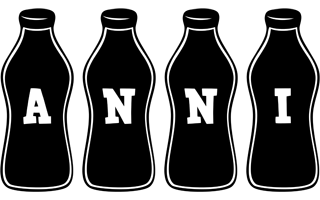 Anni bottle logo