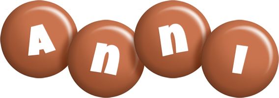 Anni candy-brown logo