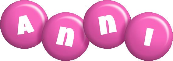 Anni candy-pink logo