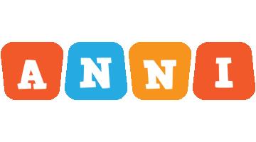 Anni comics logo