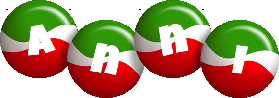 Anni italy logo
